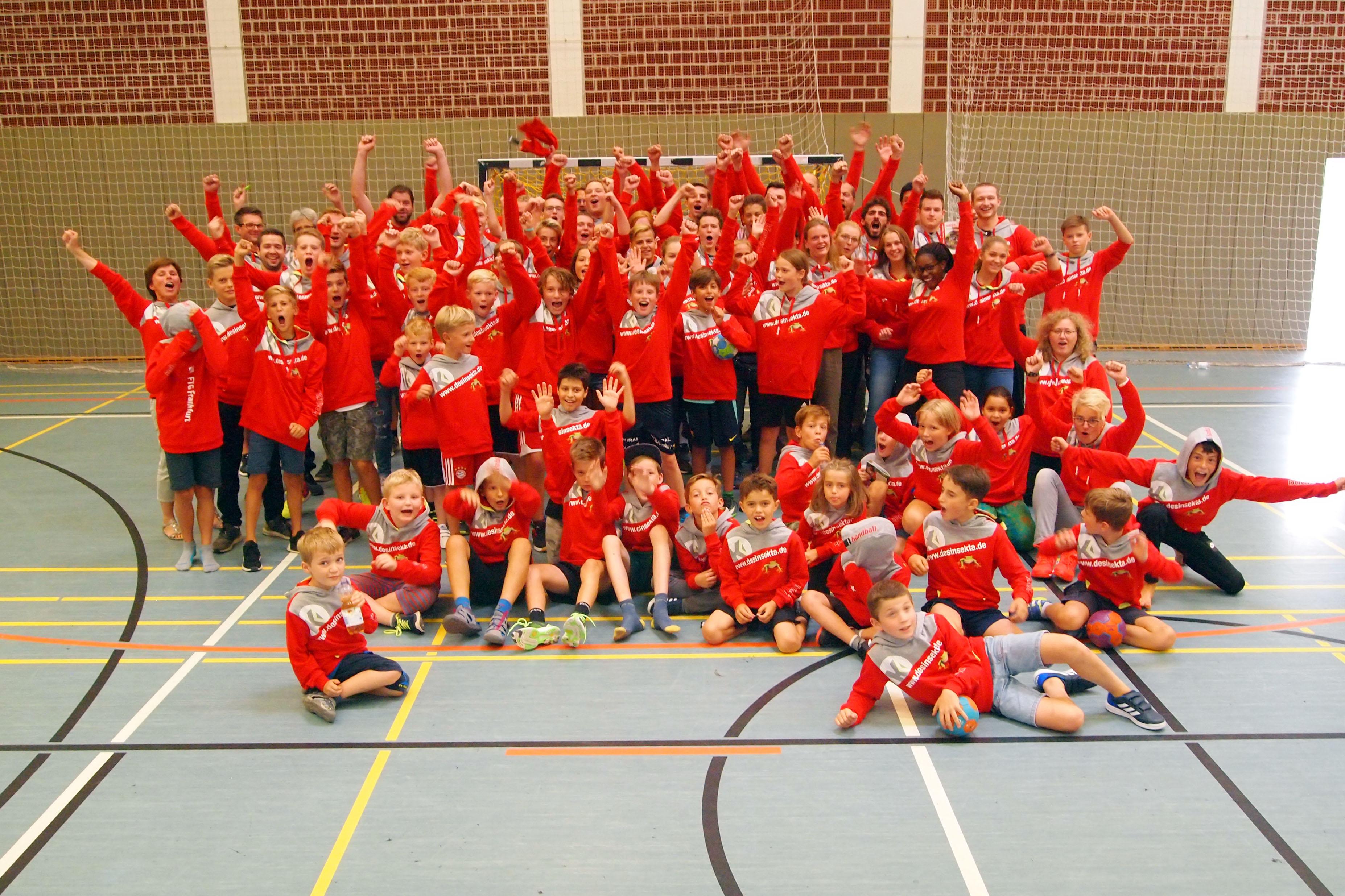 Wir sind FTG Frankfurt Handball!